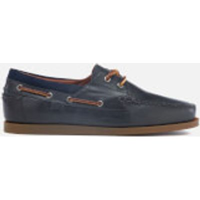 3614711981502 | Polo Ralph Lauren Men s Dayne Smooth Oil Leather Boat Shoes   Newport Navy   UK 11   Navy Store