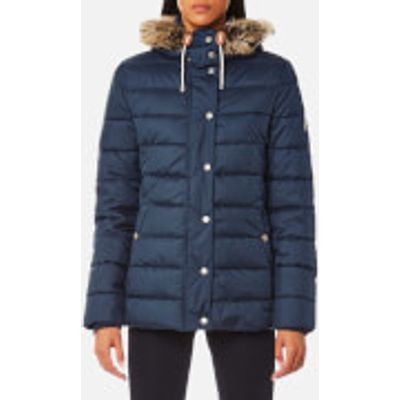 Barbour Women's Shipper Quilt Coat - French Navy - UK 12