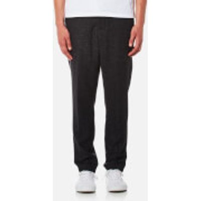 AMI Men's Carrot Fit Trousers - Anthracite - W34 - Grey