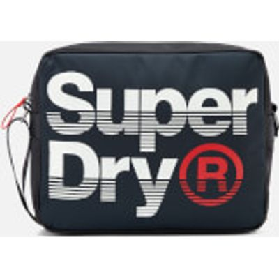 Superdry Men's Premium Lineman Messenger Bag - Navy/Optic