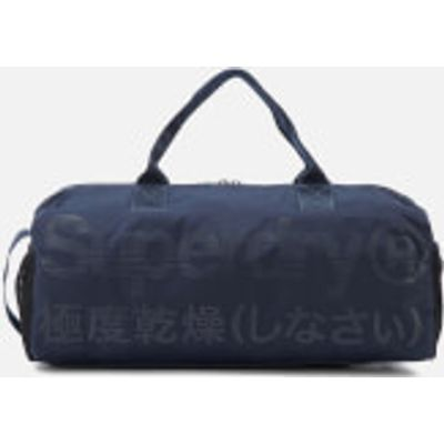 Superdry Men's Trackmaster Barrel Bag - Navy