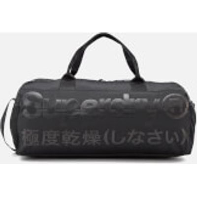 Superdry Men's Trackmaster Barrel Bag - Black