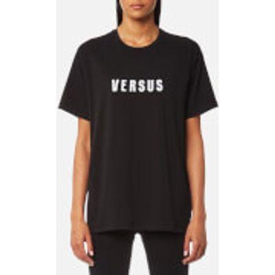 Versus Versace Women's Versus Oversized T-Shirt - Black - S - Black