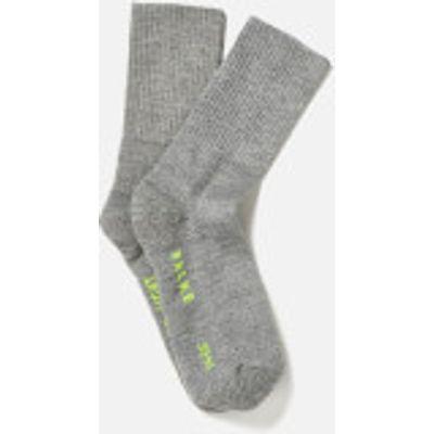 FALKE Men's Walkie Ergo Sport Spirit Socks - Graphite Melange - EU 39-41 - Grey