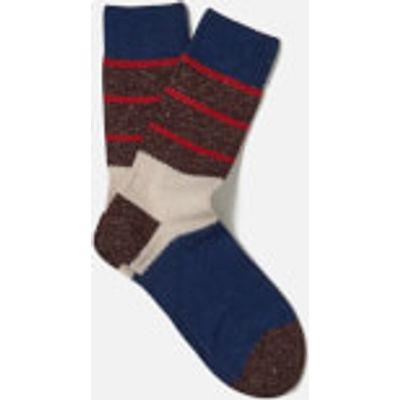 FALKE Men's Shipowner Socks - Bluecollar - EU 43-46 - Brown