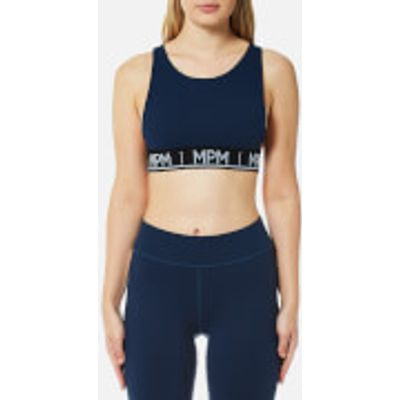 MINKPINK Move Women's Tangerine Crop Top - Navy - M - Blue