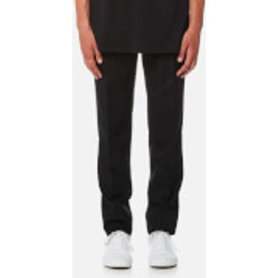 Matthew Miller Men's Marlboro Slim Leg Trousers - Black Wool - W30/S - Black