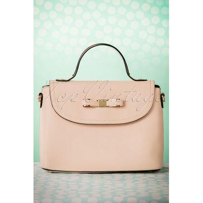 50s Blair Bow Handbag in Pink