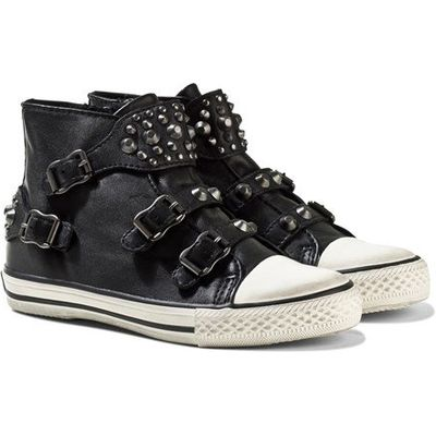 Black Frog Nappawax Leather Studded Boots