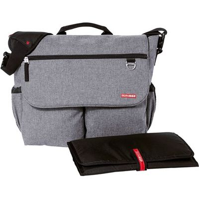 Heather Grey Dash Signature Changing Bag