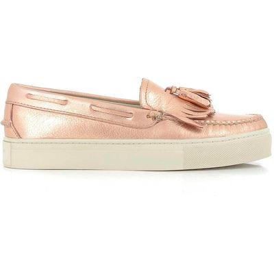 Weejuns Cup Esther Kiltie Metal  Rose Gold