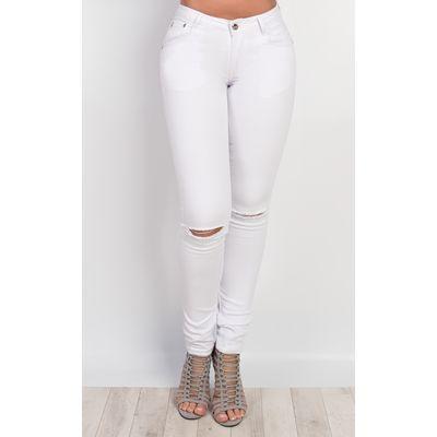 IKRUSH Womens Galina Ripped Skinny Jeans