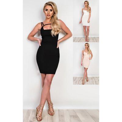 IKRUSH Womens Arianne Strappy Bodycon Dress