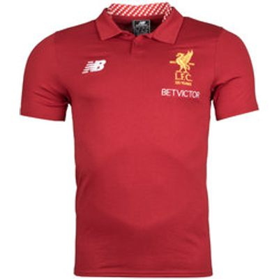 Liverpool FC 17/18 Elite Media Football Polo Shirt