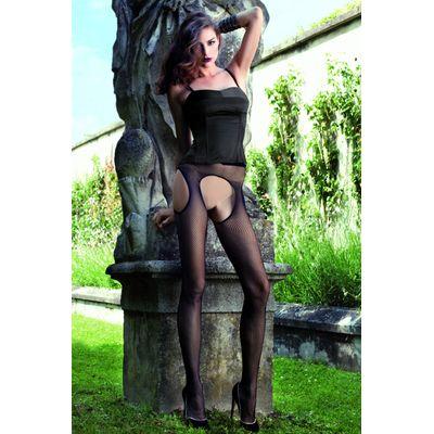 Ladies 1 Pair Trasparenze Abbie Fishnet Strip Panty Tights