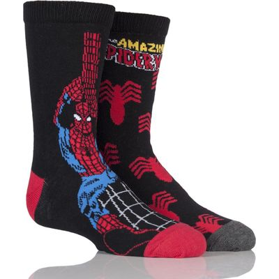 Kids 2 Pair SockShop Marvel The Amazing Spider-Man Socks