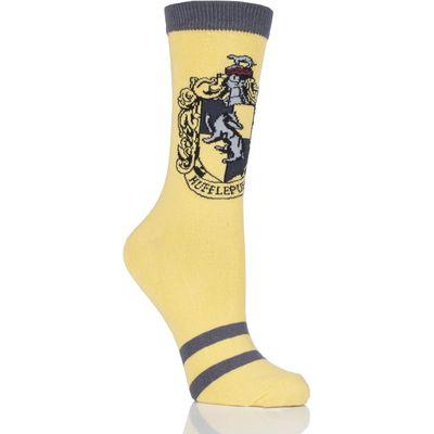 Ladies 1 Pair Harry Potter House Badges Socks