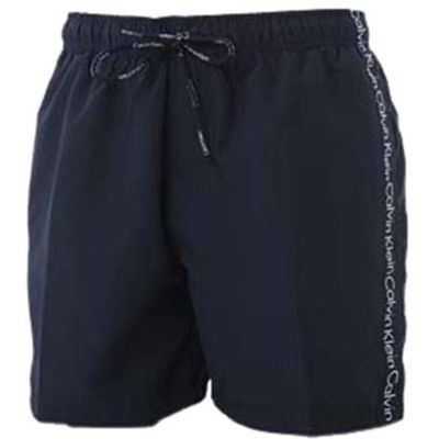 Mens 1 Pair Calvin Klein Logo Tape Drawstring Swim Shorts