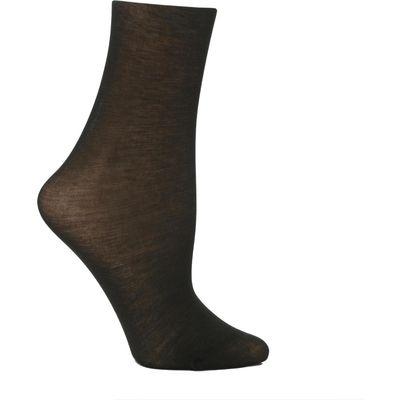 Ladies 1 Pair Trasparenze Monique 60 Denier Cotton Sock