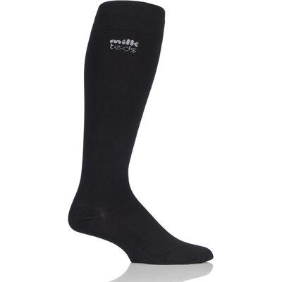 Mens and Ladies 1 Pair MilkTEDS Travel Compression Socks