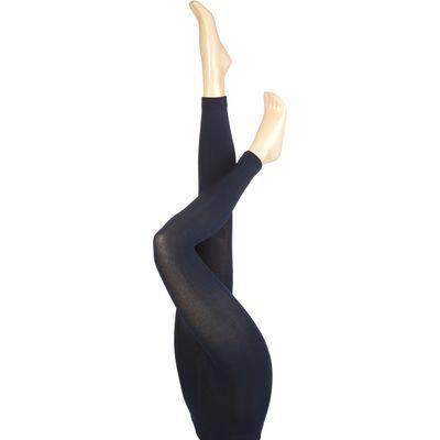 Ladies 1 Pair Heat Holders 0.52 Tog Leggings In Navy