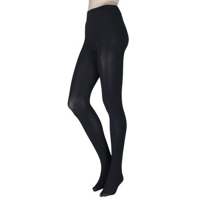 Ladies 1 Pair Couture by Silky Ultimates Seamless and Ladder Proof 100 Denier Opaque Tights