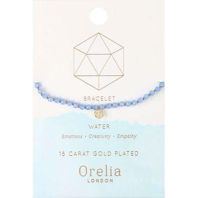 Orelia-Bracelets - Water Elements Beaded Bracelet - Blue