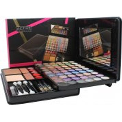 Active Glamour Face Folio Compact - 54 Eyeshadows + 1 Compact Powder + 2 Blushers + 5 Lip Glosses +