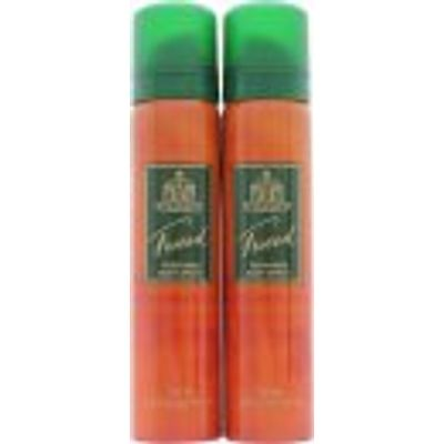 Taylor of London Tweed Body Spray 2x 75ml