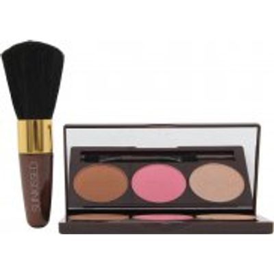 Sunkissed Bronze and Contour Gift Set 3.5g Bronzer + 3.5g Blush + 3.5g Highlighter + Applicator + Bl