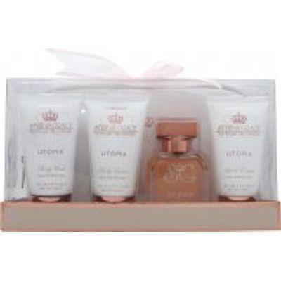 Style & Grace Utopia Lush Travel Essentials 50ml EDP + 70ml Body Lotion + 70ml Body Wash + 70ml Hand