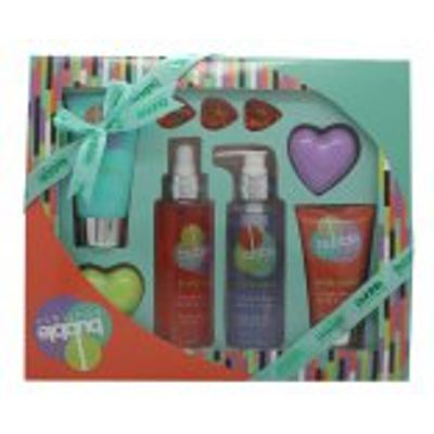 Style & Grace Bubble Boutique Bath & Body Blockbuster Gift Set 120ml Body Wash + 100ml Body Lotion +