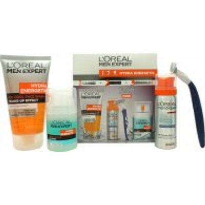 L'Oreal Men Expert Hydra Energetic Gift Set 50ml Fresh Extreme Anti-Perspirant Deo Roll-On + 50ml Ch