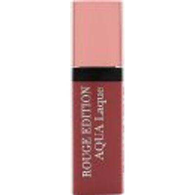 Bourjois Rouge Edition Aqua Laque Liquid Lipstick 6ml - 02 Rose On The Rocks