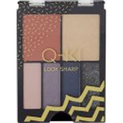 Q-KI Look Sharp Palette 4 x Eyeshadow + Highlighter + Blusher