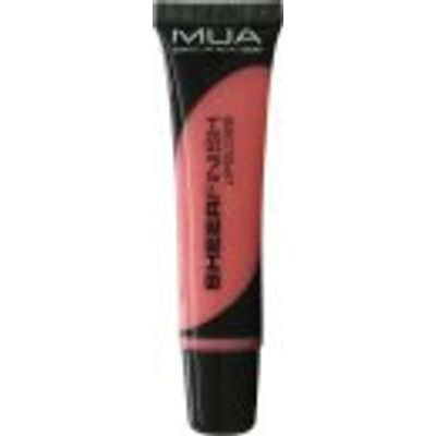 MUA Sheer Finish Lip Gloss 15ml - Some Me Time