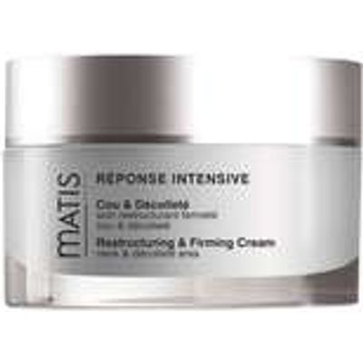 Matis Paris Reponse Intensive Restructuring And Firming Cream For The Neck And Decollete 50ml