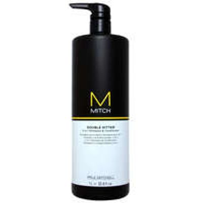 Paul Mitchell Mitch Double Hitter 2-in-1 Shampoo and Conditioner Salon Size 1000ml