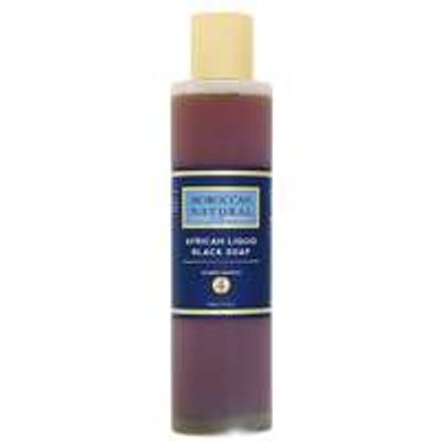Moroccan Natural Organic African Liquid Black Soap 200ml