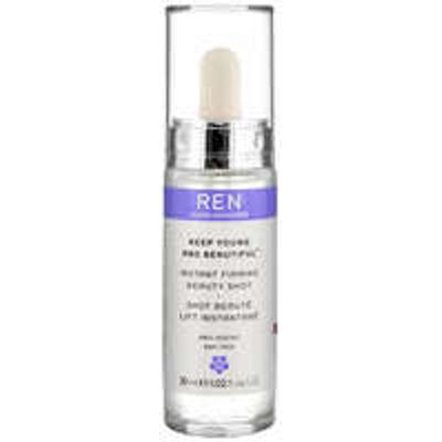 REN Clean Skincare Face Keep Young and Beautiful Instant Firming Beauty Shot 30ml
