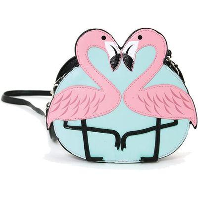 Flamingo Love Shoulder Bag