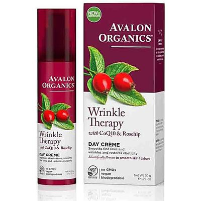 Avalon Organics Wrinkle Therapy Day Cream with CQ10 & Rosehip