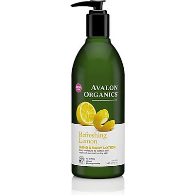 Avalon Organics Hand & Body Lotion - Refreshing Lemon (Lemon)