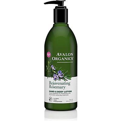 Avalon Organics Hand & Body Lotion - Rejuvenating Rosemary (Rosemary)