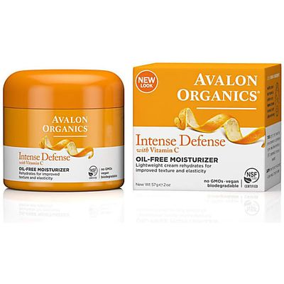 Avalon Organics Intense Defence Oil-Free Moisturiser