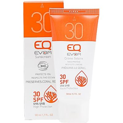 EQ EVOA Organic Sunscreen SPF30