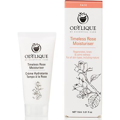 Odylique by Essential Care Timeless Rose Moisturiser - 15ml Travel ...