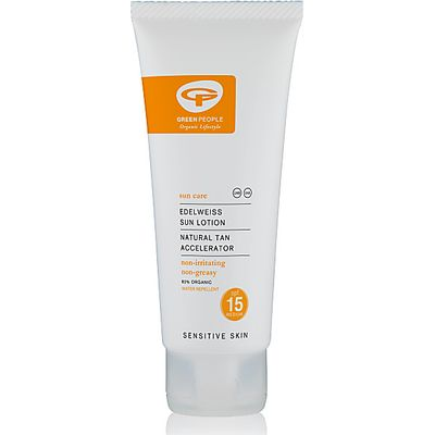 Green People Sun Lotion SPF15 - Travel Size 100ml