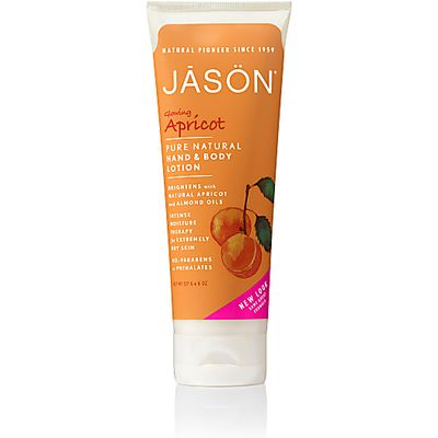Jason Natural Apricot 70% Organic Hand & Body Lotion