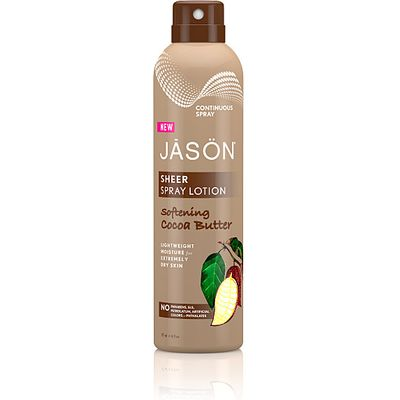 Jason Sheer Cocoa Butter Spray Lotion